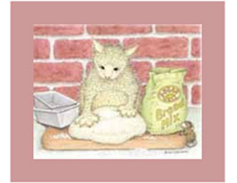 House-Mouse Friends Matted Prints