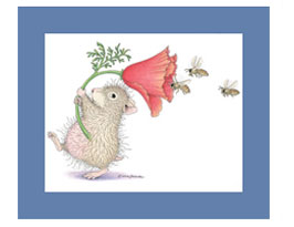 House-Mouse Matted Prints