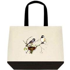 Artist Nancy Dezotell's - Two Tone Tote Bags