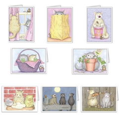 Sheet of 8 Gift Enclosures