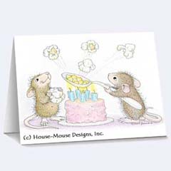 8 Cards/Envs. - House-Mouse Designs® Birthday Cards