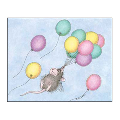 8 Birthday Cards & 8 Envelopes - House-Mouse Designs® Birthday Cards