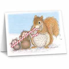 8 Versed Cards & 8 Envelopes - House-Mouse Designs® Assorted Package of 8 Christmas Cards