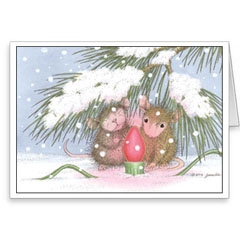 8 Versed Christmas Cards/8 Env - House-Mouse Designs® Newest Assorted Package of 8 Christmas Cards