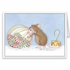8 Versed Cards/8 Envs - House-Mouse Designs® Newest Assorted Package of 8 Christmas Cards