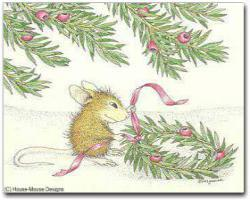 8 Versed Christmas Cards/8 Env - House-Mouse Designs® Assorted Packages of 8 Christmas Cards