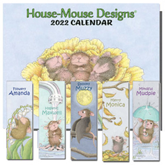 Our Wall Calendar & 6 New Assorted Bookmarks - Calendar Gift Sets - Money Saving Samplers