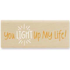 Light Up My Life  (Dec 2008) - House Mouse rubber stamp