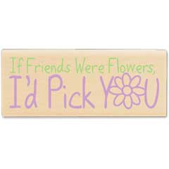 Friends were Flowers (May2010) - House-Mouse Designs rubber stamps