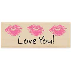 Love You Lips (Jan 2010) - House-Mouse Designs rubber stamps