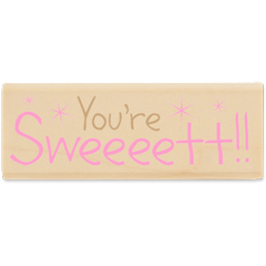 You're Sweet  (July 10) - House-Mouse Designs rubber stamps