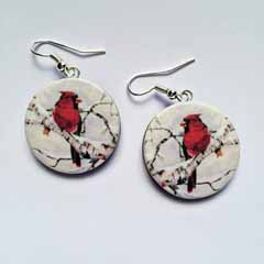 Artist Nancy Dezotell's - Earrings