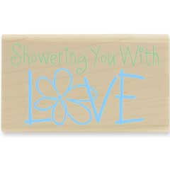 Showering Love  (July 08) - House Mouse rubber stamp