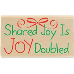 Joy Doubled (December 2010) - House-Mouse Designs rubber stamps