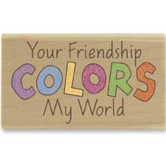 Colors My World (March 2010) - House-Mouse Designs rubber stamps