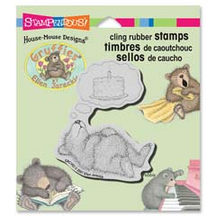 CLING CAKE DREAMER - Select cling rubber stamps on sale! Save  20%