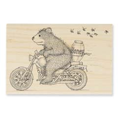 HONEY RIDE - Select Wood Mounted rubber stamps on sale! Save 25%
