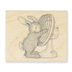 COOL IT - Select Wood Mounted rubber stamps on sale! Save 25%