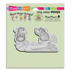Cling Monster Mouse - Our Newest House-Mouse Designs® Cling rubber stamps
