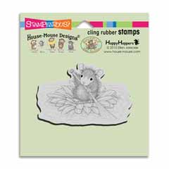 Cling Petal Paddler Stamp - Our Newest House-Mouse Designs® Cling rubber stamps