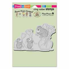 CLING FLOWER ARRANGING - Our Newest House-Mouse Designs® Cling rubber stamps