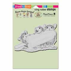 CLING ICE POP TREAT - Our Newest House-Mouse Designs® Cling rubber stamps