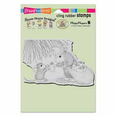 Cling Gift Giving - Our Newest House-Mouse Designs® Cling rubber stamps