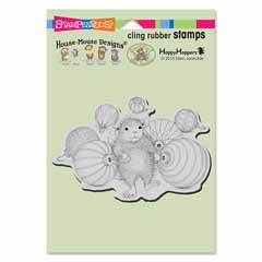 Cling Ornament Collecting - Our Newest House-Mouse Designs® Cling rubber stamps