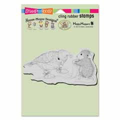 Cling Birdie Booties - Our Newest House-Mouse Designs® Cling rubber stamps