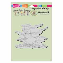 Cling Autumn Winds - Our Newest House-Mouse Designs® Cling rubber stamps
