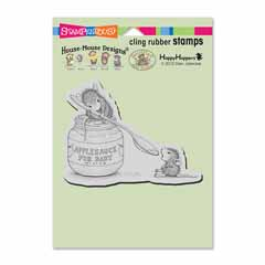 Cling Feeding Baby Stamp - Our Newest House-Mouse Designs® Cling rubber stamps