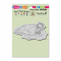 Cling Cheese Puffs Stamp - Our Newest House-Mouse Designs® Cling rubber stamps
