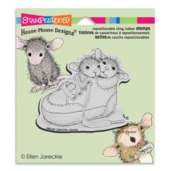 CLING SHOE BABIES - Select cling rubber stamps on sale! Save  20%