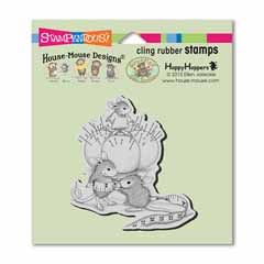 Cling Tiny Tailor Stamp - Our Newest House-Mouse Designs® Cling rubber stamps