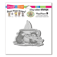 Cookie Crumbles Cling Stamp - Our Newest House-Mouse Designs® Cling rubber stamps