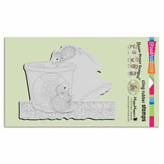 CLING DESSERT DIVE - Our Newest House-Mouse Designs® Cling rubber stamps