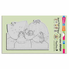 CLING SUMMER SNACKING - Our Newest House-Mouse Designs® Cling rubber stamps