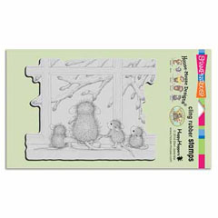 Cling Window Wonder - Our Newest House-Mouse Designs® Cling rubber stamps