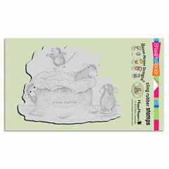Cling Flour Play - Our Newest House-Mouse Designs® Cling rubber stamps