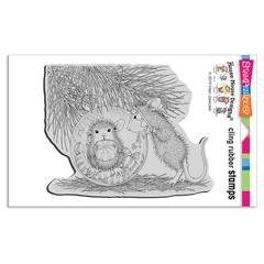 Cling Ornament Candy Rubber St - Our Newest House-Mouse Designs® Cling rubber stamps