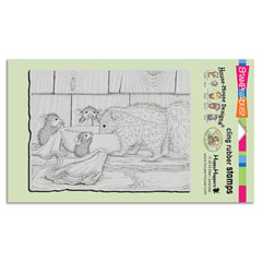 CLING ODORABLE FRIEND - Select cling rubber stamps on sale! Save  20%