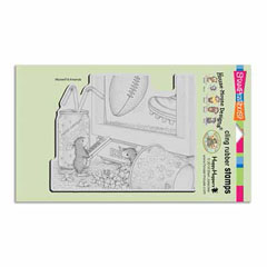 CLING GAME DAY - Our Newest House-Mouse Designs® Cling rubber stamps