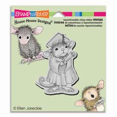 CLING GRADUATE - Select cling rubber stamps on sale! Save  20%
