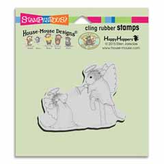 Cling Trumpet Blast - Our Newest House-Mouse Designs® Cling rubber stamps