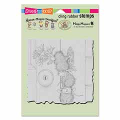 CLING DOORBELL RINGERS - Our Newest House-Mouse Designs® Cling rubber stamps