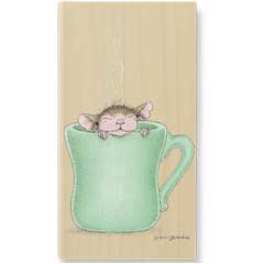 Morning Kick Start (Jan 08) - House Mouse rubber stamp