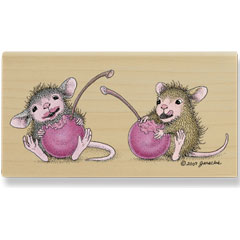 Fruity Fun (Feb 08) - House Mouse rubber stamp
