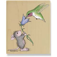 Helping Hand (April 08) - House Mouse rubber stamp