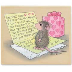 Love Letter (Jan 2010) - House-Mouse Designs rubber stamps