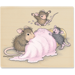 Mice Scream Ice Cream (Jul 10) - House-Mouse Designs rubber stamps